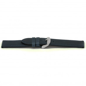 Bracelet de montre cuir kayak bleu 16mm EX-E629