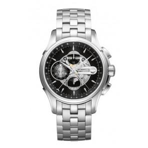 Bracelet de montre Hamilton H001.32.696.139.01 / H605376100 Acier Acier 22mm