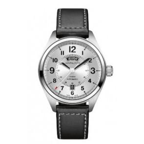 Bracelet de montre Hamilton H001.70.505.753.01 Cuir Noir 20mm