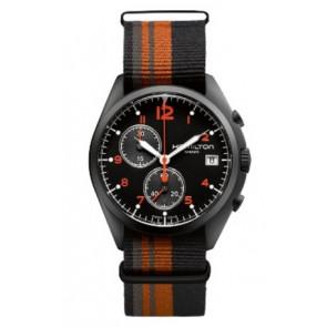 Bracelet de montre Hamilton H76582933 Textile Multicolore 22mm