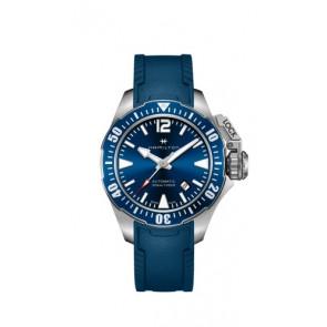 Bracelet de montre Hamilton H77705345 Caoutchouc Bleu 20mm