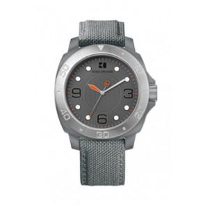 Bracelet de montre Hugo Boss HB-142-1-29-2395 / HO1512666 Textile Gris 22mm