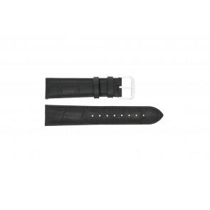 Bracelet de montre Universel 305L.01.12 XL Cuir Noir 12mm