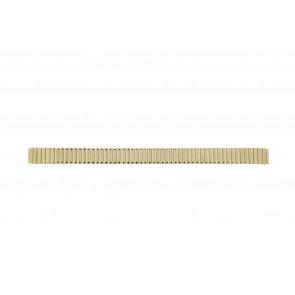 Bracelet de montre HT1012 / Haka-Flex Métal Plaqué or 14mm