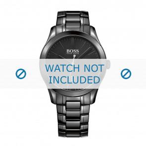Hugo Boss bracelet de montre HB-269-1-49-2792 / HB1513223 Céramique Noir