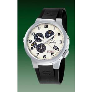 Bracelet de montre Jaguar J1202-01 Caoutchouc Noir 20mm