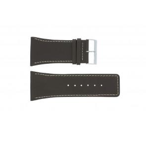 Bracelet de montre Universel P310 Cuir Brun 38mm