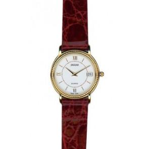 Bracelet de montre Jaguar J601-1 / J601-7 Cuir Bordeaux 14mm