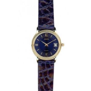 Bracelet de montre Jaguar J601-5 Cuir Bleu 14mm