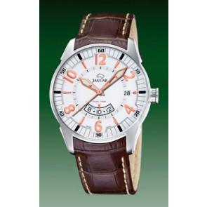 Bracelet de montre Jaguar J628/1 Cuir croco Brun