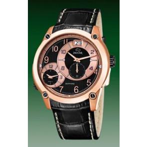 Bracelet de montre Jaguar J631/3 / J635/1 Cuir Noir 24mm