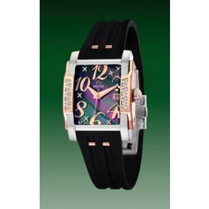 Bracelet de montre Jaguar J648-2 Caoutchouc Noir