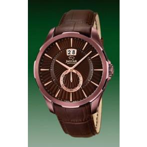 Bracelet de montre Jaguar J684 Cuir Brun 22mm