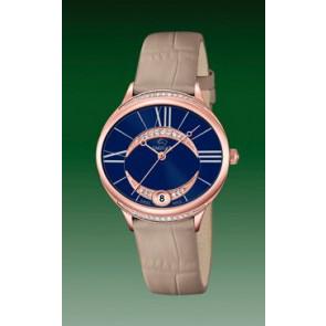 Bracelet de montre Jaguar J804-2 Cuir Brun clair