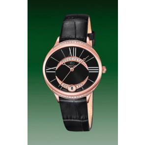 Bracelet de montre Jaguar J804-3 Cuir Noir