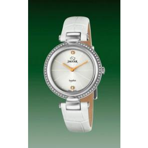 Bracelet de montre Jaguar J832-1 Cuir Blanc