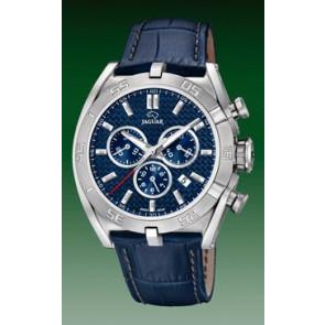 Bracelet de montre Jaguar J857-2 Cuir Bleu