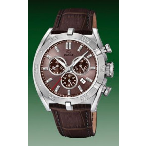Bracelet de montre Jaguar J857-6 Cuir Brun