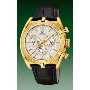 Bracelet de montre Jaguar J858-1 / J858-3 Cuir Noir