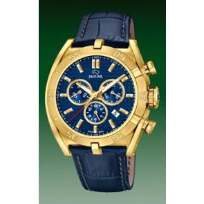 Bracelet de montre Jaguar J858-2 Cuir Bleu