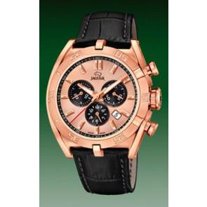 Bracelet de montre Jaguar J859-1 / J859-3 Cuir Noir
