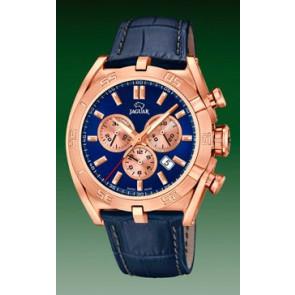 Bracelet de montre Jaguar J859-2 Cuir Bleu