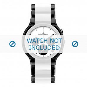 Jacques Lemans bracelet de montre 1-1580E Céramique Bicolore