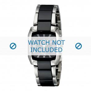 Jacques Lemans bracelet de montre 1-1754A Céramique Bicolore