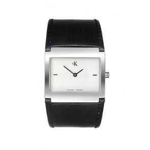 Bracelet de montre Calvin Klein K0428126 Cuir Noir