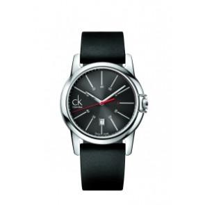 Bracelet de montre Calvin Klein K0A215 (K604.000.005) Caoutchouc Noir