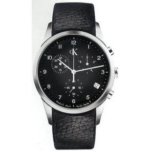 Bracelet de montre Calvin Klein K600058950 / K2227102 Cuir Noir