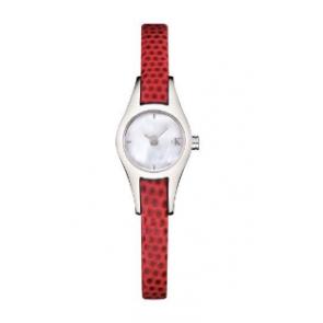 Bracelet de montre Calvin Klein K2723100 Cuir Rouge
