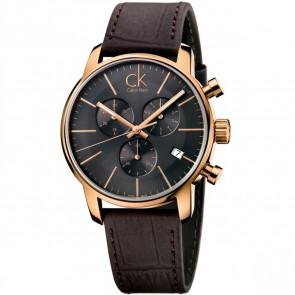 Bracelet de montre Calvin Klein K2G276G3 Cuir Brun