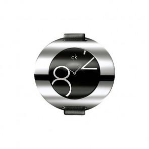 Bracelet de montre Calvin Klein K600035806 / K3723702 Cuir Noir 16mm