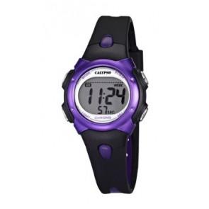 Bracelet de montre Calypso K5609-5 Caoutchouc Noir