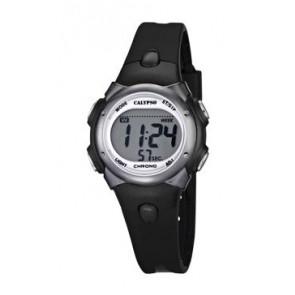 Bracelet de montre Calypso K5609-6 Caoutchouc Noir