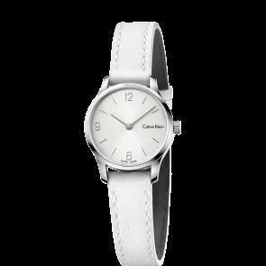 Bracelet de montre Calvin Klein K7V231 Cuir Blanc 12mm