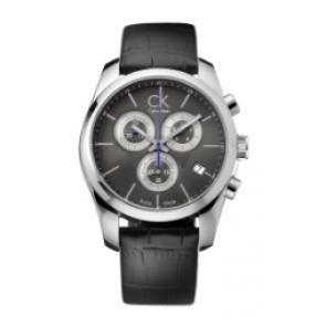 Bracelet de montre Calvin Klein 271 Cuir Noir
