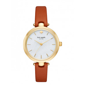 Bracelet de montre Kate Spade New York KSW1156 Cuir Brun 6mm