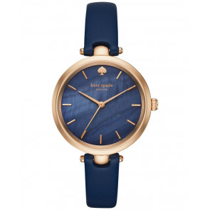 Bracelet de montre Kate Spade New York KSW1157 Cuir Bleu 6mm