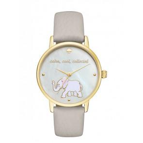 Kate Spade New York bracelet de montre KSW1208 / METRO Cuir Gris
