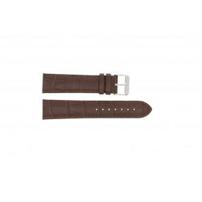 Bracelet de montre 305.02.14 XL  Cuir Brun 14mm + coutures brunes