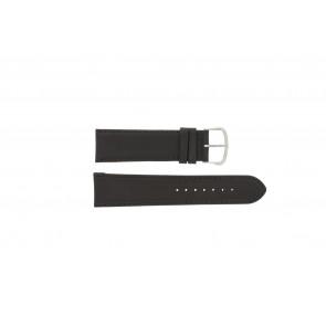 Bracelet de montre WoW E.5316 Cuir Brun foncé 22mm