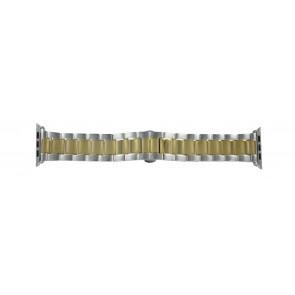 Apple (modèle de remplacement) bracelet de montre LS-AB-106 (Bi-color) Métal Or (dorée) 42mm