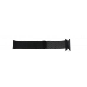Apple (modèle de remplacement) bracelet de montre LS.AB.108 Métal Noir 42mm