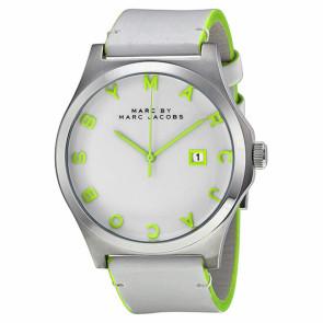 Bracelet de montre Marc by Marc Jacobs MBM1247 Cuir Blanc