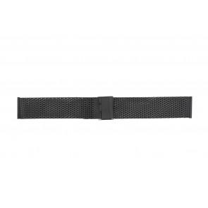 Other brand bracelet de montre MESH20.01 Métal Noir 20mm