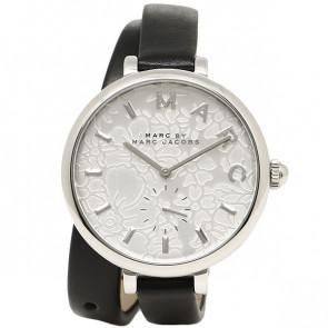 Bracelet de montre Marc by Marc Jacobs MJ1419 Cuir Noir