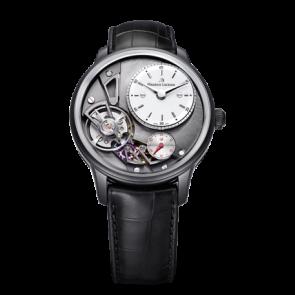 Bracelet de montre Maurice Lacroix Gravity ML550-000256 Peau de crocodile Noir