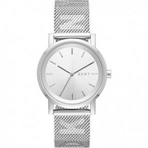 Bracelet de montre DKNY NY2620 Acier Acier 18mm